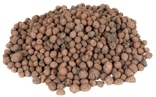 Expanded Clay Pebbles (Hydroton) 8 Quart Bag
