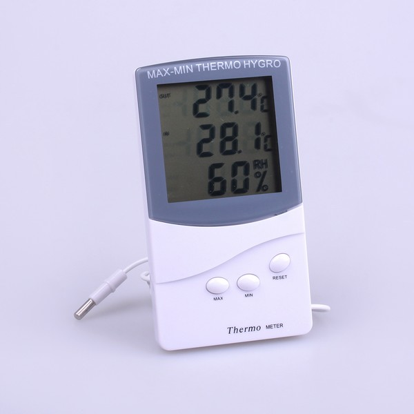Indoor Outdoor Digital Thermometer And Hygrometer