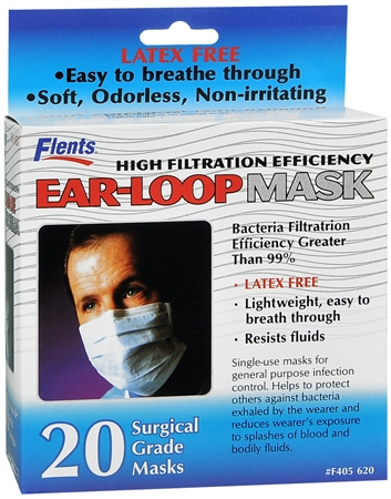 Latex Free High Filtration Surgical Masks