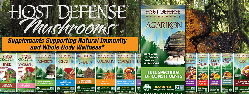 Host Defense Mushroom Supplement