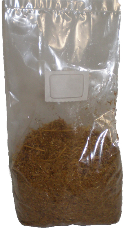 20 Pounds of Pasteurized Straw Bulk Mushroom Substrate