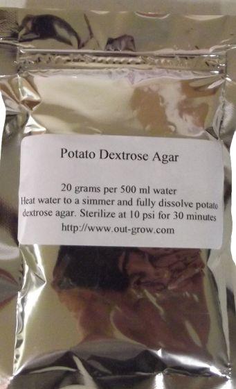 Potato Dextrose Agar  (PDA)