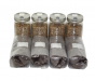 Four Quart Jars of Sterilized Rye and Four One Pound Bags of Manure Based Substrate