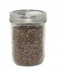 Pint Jar of Sterilized Rye Grains