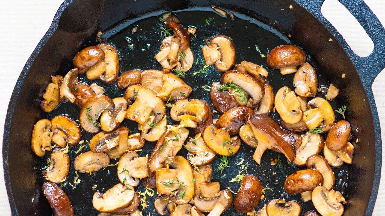 How to Roast Mushrooms Properly Step-by-Step