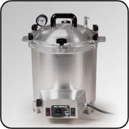 All American Model #50X 25 Quart Electric Sterilizer