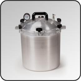 All American Model #1925X Non-Electric 25 Quart Sterilizer