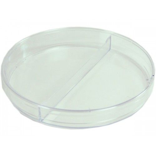 Petri Dish 100 X 15mm Pack of 20  With 2 Sections